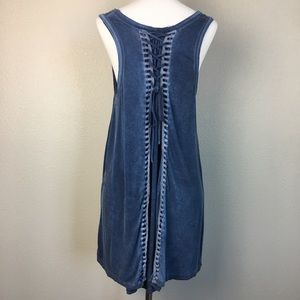 Altard State Anthropologie Blue Tunic